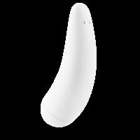Вакуумный стимулятор Satisfyer Curvy 2+ White с дистанционном управлением