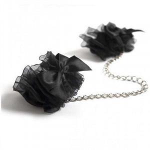 Bijoux Indiscrets Манжеты Frou Frou черные