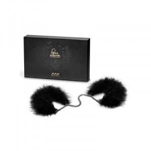 Bijoux Indiscrets Перьевые наручники Za Za Zu Feather Handcuffs Bijoux черные