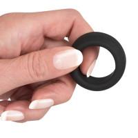 Эрекционное кольцо на пенис Black Velvets Cock Ring, черное