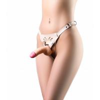 Трусики для страпона Kira Flesh (OS)